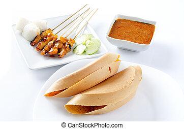 Malay food Apam balik