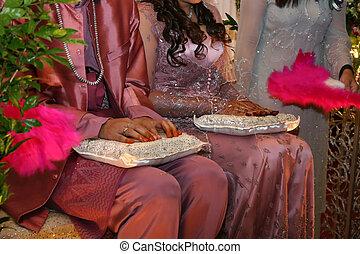 malay, trouwfeest
