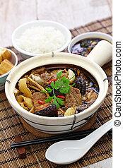 malaysia bak kut teh, traditional chinese herbal pork ribs ...