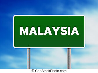 Malaysia Highway Sign