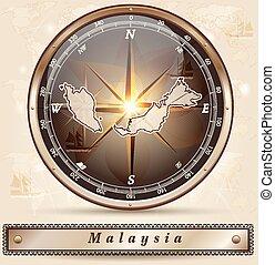 malaysia, karta