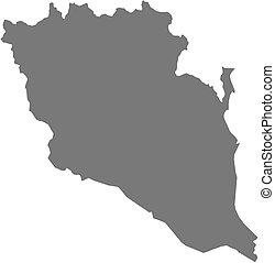 (malaysia), mapa, makmur, -, darul, pahang