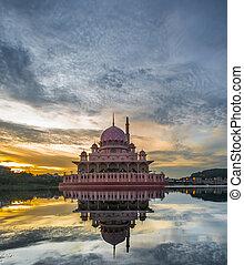 malaysia, putra, moschea