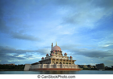 malaysia, putrajaya, putra, moschea
