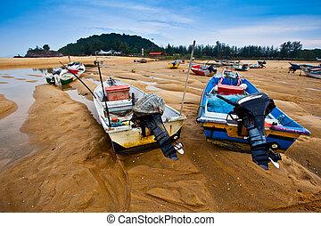 Malaysian Fisherman's Boats