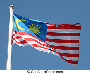 Malaysian flag - The flag of the Malaysian Federation