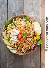 Malaysian style maggi goreng mamak