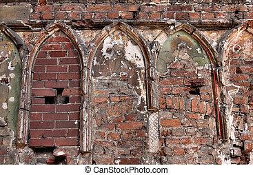 Malbork castle cathedral