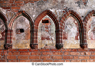 Malbork castle detail