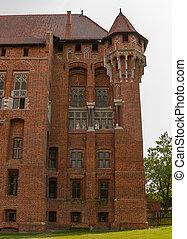 malbork, kasteel