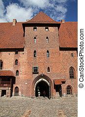 malbork, polen, kasteel