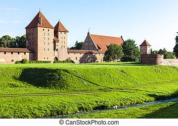 malbork, polen, pomerania, kasteel