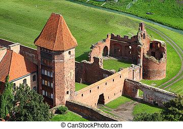 malbork, zamek