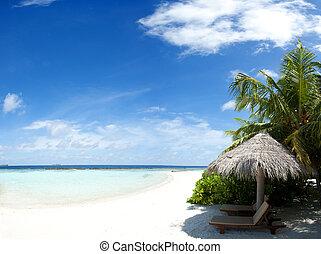 maldivas, relajar