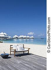 maldive, spiaggia