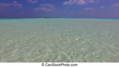 Maldives beautiful white sandy beach background on sunny...