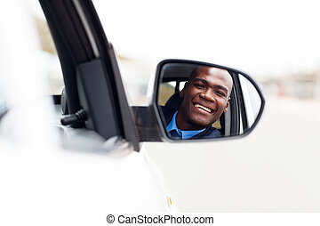 male african American driver
