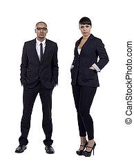 black american businesspeople