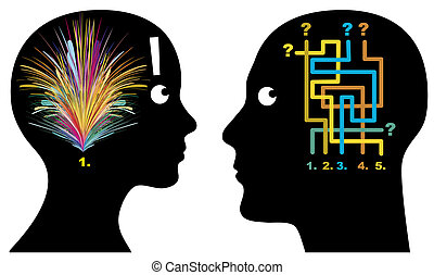 Male and Female Logic - Men and women think, perceive and...