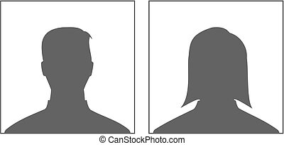 Male and Female - profile picture.