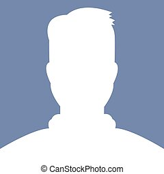 Male avatar profile picture, vector, illustations