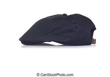 Male baseball hat isolated on white