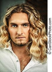 male beauty hair