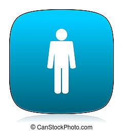 male blue icon