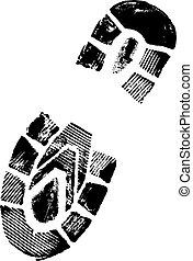 Bootprint - Male Bootprint
