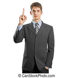 businessman in suit