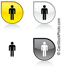 Male button.