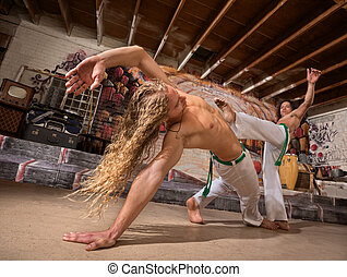 Male Capoeira Performers