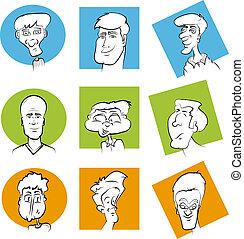 Male Cartoon Mascots