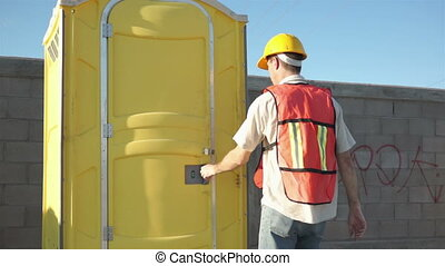 Male Construction Worker Portable B