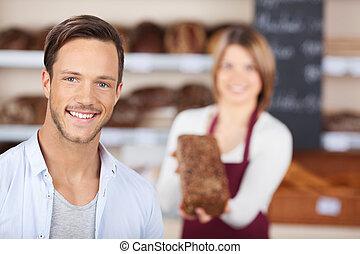 Male customer