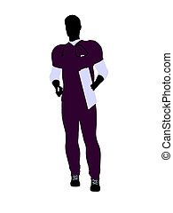 Male Doctor Illustration Silhouette - Male doctor silhouette...