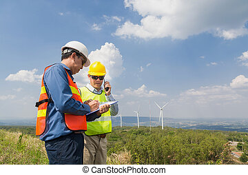 Male Engineer and Architect working
