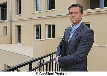 Male estate agent