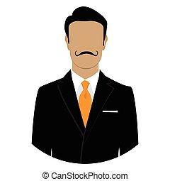 Male face avatar