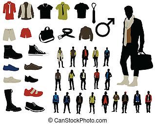 Male fashion elements