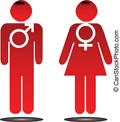 Male female signs
