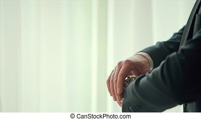 Male Hands Corrected Cufflinks