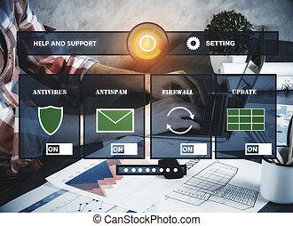 Touchscreen concept