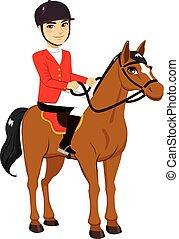 Male Horse Rider