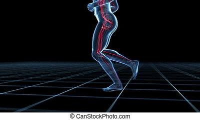 Male jogger
