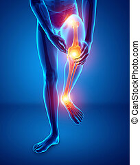 Male Leg Joint Pain