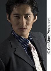 Male Model - An asian male model in smart casual clothing