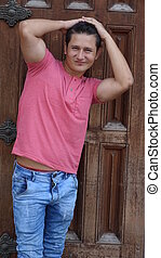 Male Model Pose