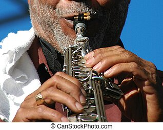 Male Musician - Musician performing