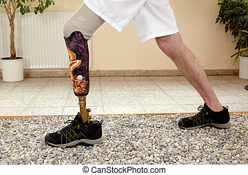 Male posthesis wearer training - Male prosthesis wearer...
